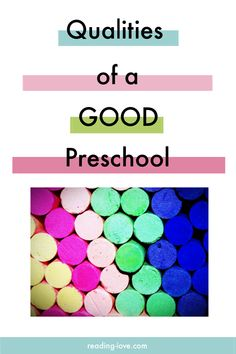 Qualities of a Good Preschool - Reading Love Learn more about the qualities of a good preschool. You will learn what to look for, the questions to ask, etc. to find the best preschool for your child. Preschool Literacy, Childcare Activities, Preschool Projects, How Many Kids, Play Based Learning, All Family, Early Childhood Education, Parenting Hacks, Mindful Parenting