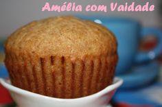 Cupcake Integral de Maçã e Especiarias com kefir - Receitas