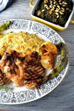 Spicy Yogurt Marinated Turkish Grilled Chicken. Light and healthy eating at it's best. Add some homemade rice pilaf and you have an irresistible meal!