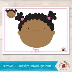 Our Emotions Playdough Learning Mats have had a makeover! Our previous designs are still available, now you have two designs to choose from. Social Emotional Activities, Emotions Activities, Playdough Activities, Sensory Games, Sensory Book, Teaching Emotions, Feelings And Emotions, Nursery Activities, Developmental Toys