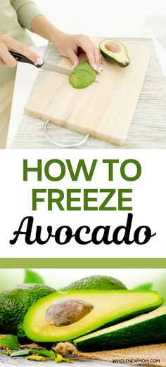Did you know that freezing avocados seriously works? Here are 4 Ways to Freeze Avocados so you can save loads of money when they're on sale! Freezing Avocados -- 4 Ways to Do It! #avocado #freezerfood Yummy Healthy Snacks, Healthy Meal Prep, Healthy Recipes, How To Make Taco, Food To Make, Freeze Avocado, Kinds Of Salad, Autoimmune, Spreads