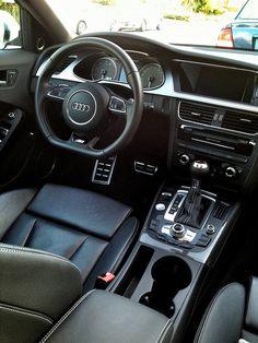 Audi Motorcycle - Ducati by Thibault Devauze Lamborghini, Maserati, Bugatti, Ferrari, Best Car Interior, Audi Interior, Audi S4, Audi A4 Black, Cadillac