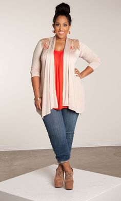 Peekaboo Pretty - The Pretty Cami It's wearable, soft and lightweight. It's also deceivingly simple...a colorful cami with a long cardi over it is the perfect look for daytime casual. Hints of lace at the shoulder add an extra feminine edge.