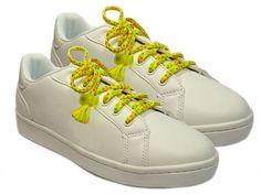 Sneaker Trend im Paillettenshop, NEON