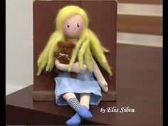Tutorial Gorjuss- Ho to make Gorjuss dolls textil - YouTube
