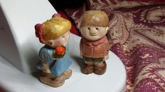 Little people woodcarved