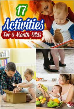 Now that your baby is 5 months old, this is one of the best time to engage your baby with various types of activities. Check few 5 months old baby activities.