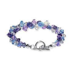 swarovski bracelet - I like the increasing size of beads
