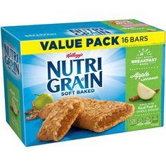 Kellogg's Nutri-Grain Soft Baked Apple Cinnamon  Bar 1.3oz 16 count