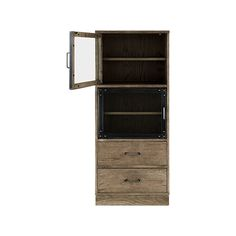Curiosity Modular 3 Cubby Cabinet in Black