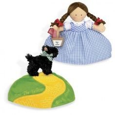 Topsy Turvy Doll: Dorothy & Toto...make instead dorothy and wicked witch..could even do good witch on back of bad
