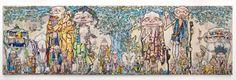 Takashi Murakami - 村上隆  69 Arhats Beneath the Bodhi Tree
