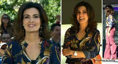 Look da Fátima Bernardes no Encontro dia 28 de abril