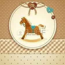 Rocking horse baby shower invitation baby shower pinterest resultado de imagen para caballitos mecedores para tarjetas de baby showers rocking horsesbaby shower invitationsbaby filmwisefo Gallery