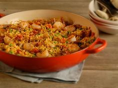 Try this easy paella recipe from Martha Stewart's Everyday Food. Get this Spanish recipe at PBS Food.