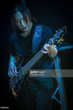 John Myung of Dream Theater Perform on March 17, 2016 in Milan, Italy.
