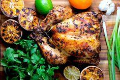Cuban Mojo Chicken Mojo Chicken, Cuban Chicken, Indian Chicken, Chicken Curry, Chicken Wings, Oven Roasted Chicken, Baked Chicken, Chicken Recipes, Roast Chicken