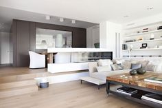 Separate and open in this livingroom