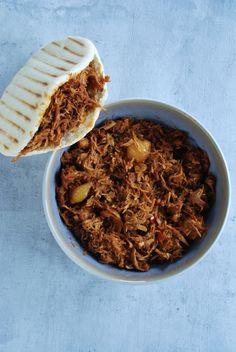 Pulled Chicken, Bbq Chicken, Risotto, Slow Cooker, Brunch, Ethnic Recipes, Om, Desserts, Tailgate Desserts