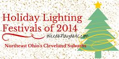 Holiday Lighting Events for Cleveland and Northeast Ohio in 2014