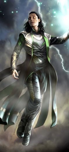 Loki. I Love this so much . I don't know who made this beautiful one. thank you so much for this <3