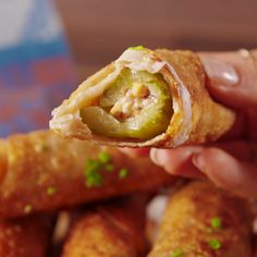 pickle egg roll - need to figure out keto egg roll wrapper recipe