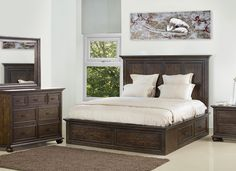 Find a wide selection of Queen Beds at Nebraska Furniture Mart. Shop with our low-price guarantee and find great deals on Queen Beds and more! Storage Bed Queen, Bedroom Storage, Bedroom Sets, Master Bedroom, King Beds, Queen Beds, Bedroom Furniture, Furniture Sets, Furniture Stores