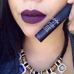 Awesome color for fall nyx cosmetics matte lip cream (Transylvania) ...