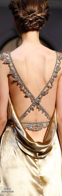 BRIDESMAIDS Schiaparelli FW 2015 Haute Couture (details) | Purely Inspiration More