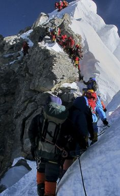 There's So Much Human Poop On Mount Everest It's Becoming A Health Hazard