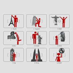 Tourist Shot User Manual. Bucket List! I'd love to get all these shots with all these famous landmarks.