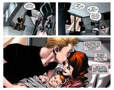 Romanogers >This is actually what is supposed to happen, and I believe their son is named James after Bucky.