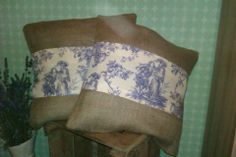 hessian cushions