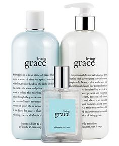 philosophy living grace fragrance collection - philosophy - Beauty - Macy's mommy wants this! #ChristmasIdeas