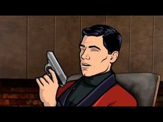 Archer - Season 2 - Internet Movie Firearms Database - Guns in Movies, TV and Video Games Archer Season 2, Archer Tv Show, Sterling Archer, Anime Mems, Guys And Dolls, Internet Movies, Funny Fashion, Linnet, Funny Outfits