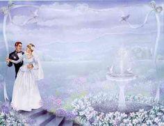 lavender background wedding - Wedding Invitation Border | Wedding ...