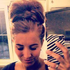 Mega bun / hairdo