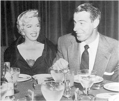 Golden Steer. Joe DiMaggio wined and dined his (by then) ex-wife Marilyn Monroe in their very own booth in the early 60s.