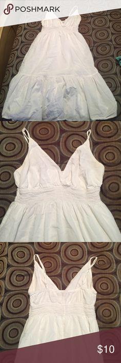 White sundress All white size M Old Navy Dresses Asymmetrical