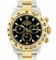 New Rolex Cosmograph Daytona Steel and 18K Yellow Gold Oyster 116503 40mm Watch #Rolex #Casual