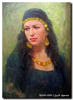 Mahmoud Feteih painting Fine Art egypt