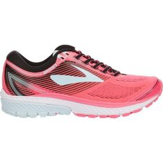 Brooks Women's Ghost 10 Running Shoes (Pink/Black/White, Size 6.5) - Women's Running Shoes at Academy Sports