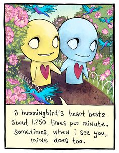 The official home of Pon and Zi, a cute webcomic about love, created by Jeff Thomas Cute Emo, Cute Love, Emo Cartoons, When I See You, Cute Comics, Lovey Dovey, Art For Art Sake, Fan Art, Cute Characters