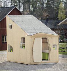 素敵すぎる!低価格の一人暮らし用ミニハウスは北欧テイストでロフト付き!