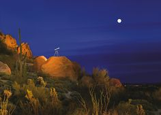 Stargazing at Luxurious Scottsdale Resort