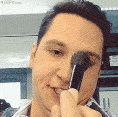 """""""How Makeup Actually Works"""" HAJAHAHHAHAHAHA OMG"""