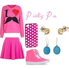 """""""Pinky Pie"""" by somnio on Polyvore"""