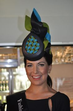 AdornCollection Millinery - Fashion on the Australian Racecourse Silly Hats, Funny Hats, Races Fashion, Fashion Hats, Millinery Hats, Fascinator Hats, Race Day Hats, Race Day Outfits, African Hats