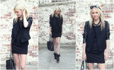 Atlantic-Pacific is a fashion and personal style site by Blair Eadie. Love Her Style, Cool Style, All Black Outfit, Black Outfits, Atlantic Pacific, All Black Looks, Cold Weather Fashion, Love Clothing, Fall Wardrobe
