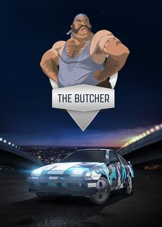 The Butcher - mobile game poster by T-Bull Entertainment